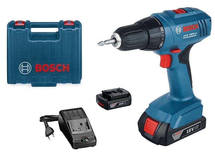 Akumulatorska bušilica BOSCH GSR1800-Li