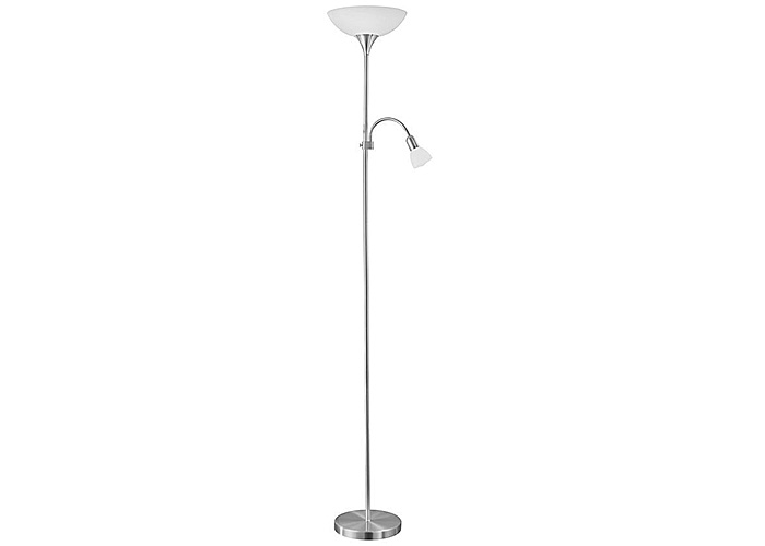 Podna lampa Eglo 82842 Up 2 mat hrom