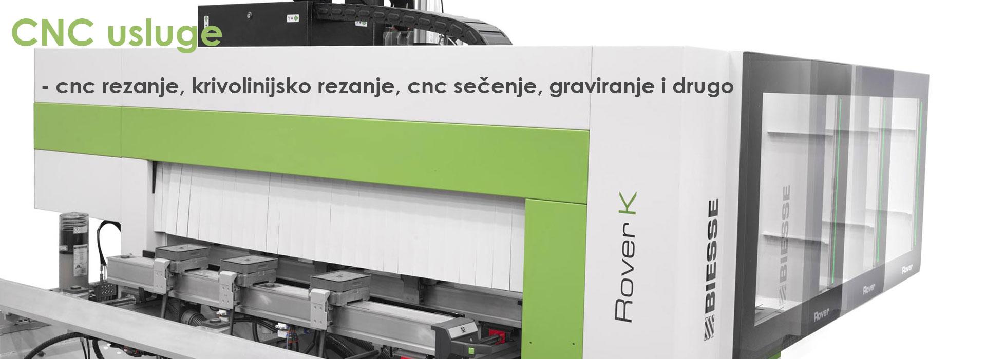 CNC usluge