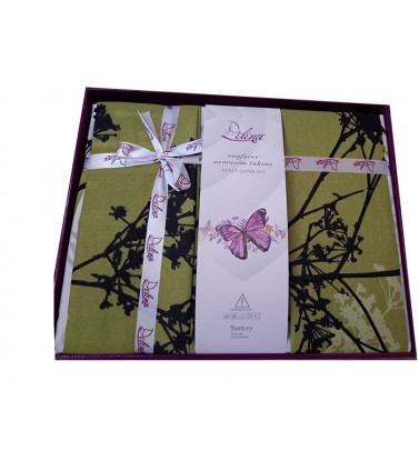 Posteljina double polikoton (gift box)