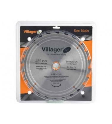 List testere za drvo 255x30/25.4x2.6x60t Villager