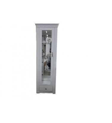 Jednokrilna vitrina KAIRO-bela